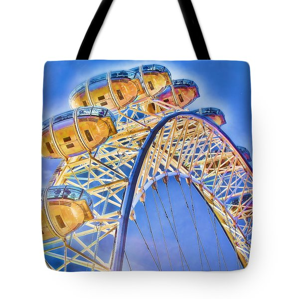 London Eye Blue Sky Tote Bag