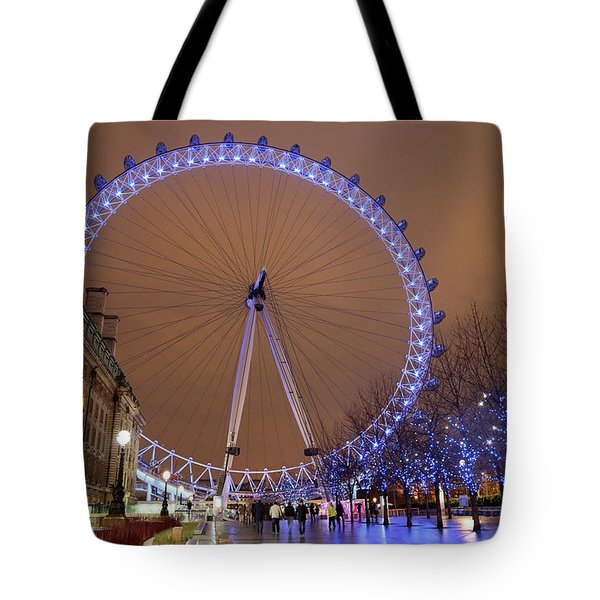Tote Bag featuring the photograph Big Wheel by David Chandler