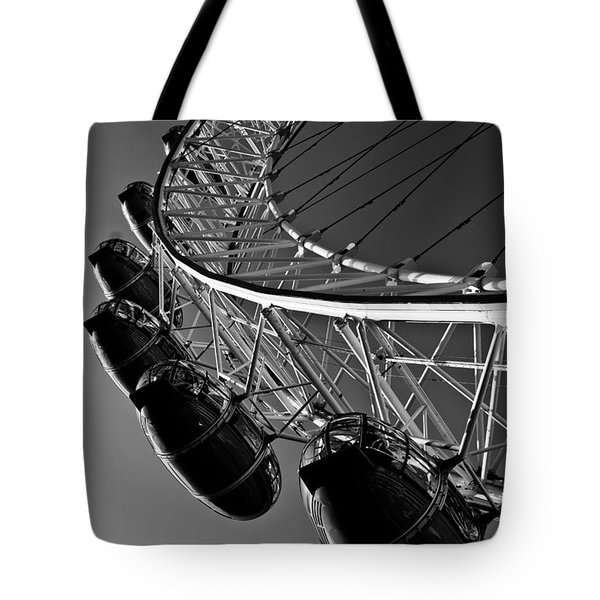 London Eye Tote Bag by David Pyatt