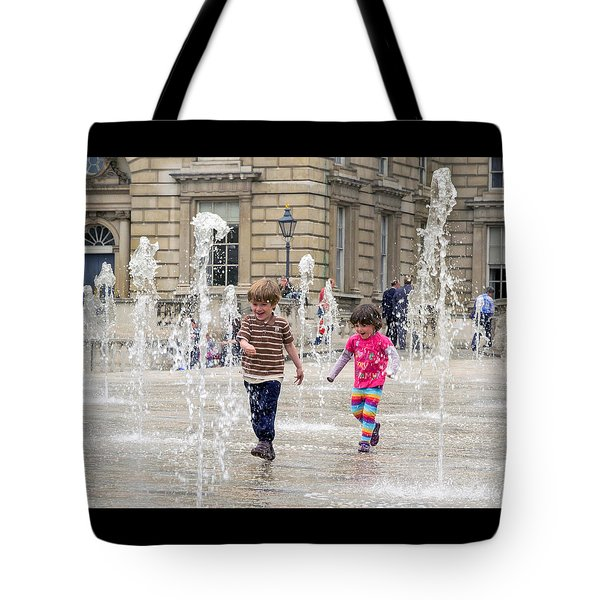 London Fun  Tote Bag by Keith Armstrong