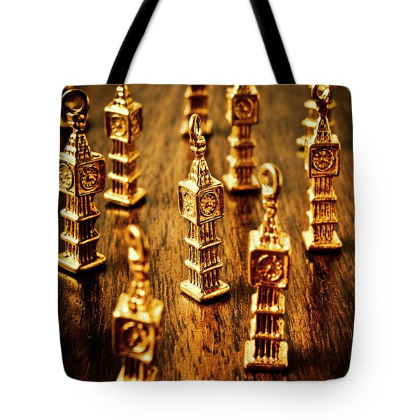 London Gold Tote Bag