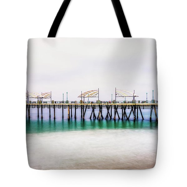 Tote Bag featuring the photograph London In Redondo by Michael Hope