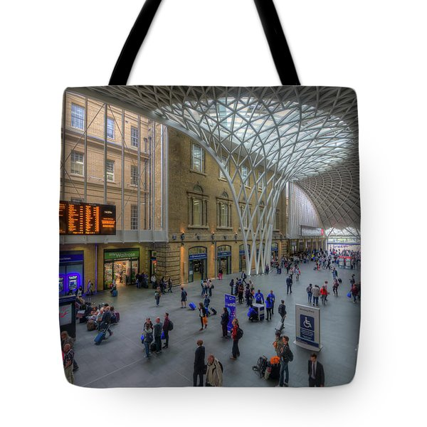 Tote Bag featuring the photograph London King's Cross by Yhun Suarez