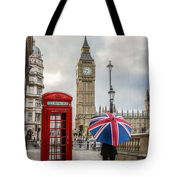 London Lady Tote Bag