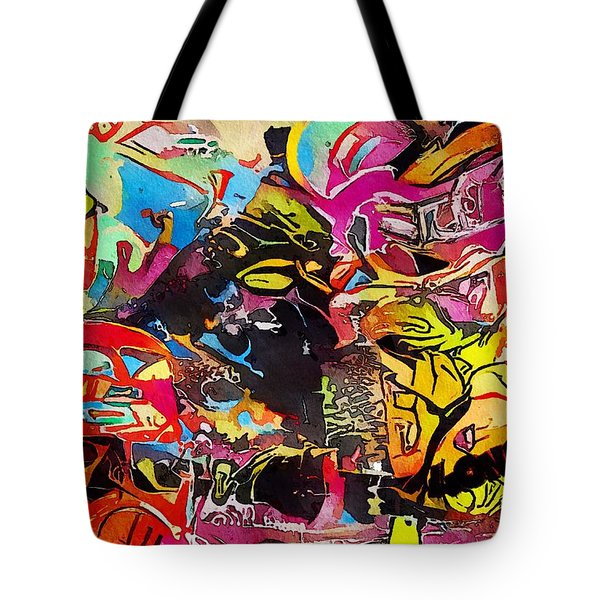 Tote Bag featuring the painting London by Mark Taylor
