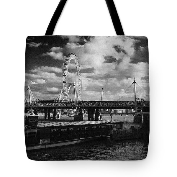 London S Skyline Tote Bag