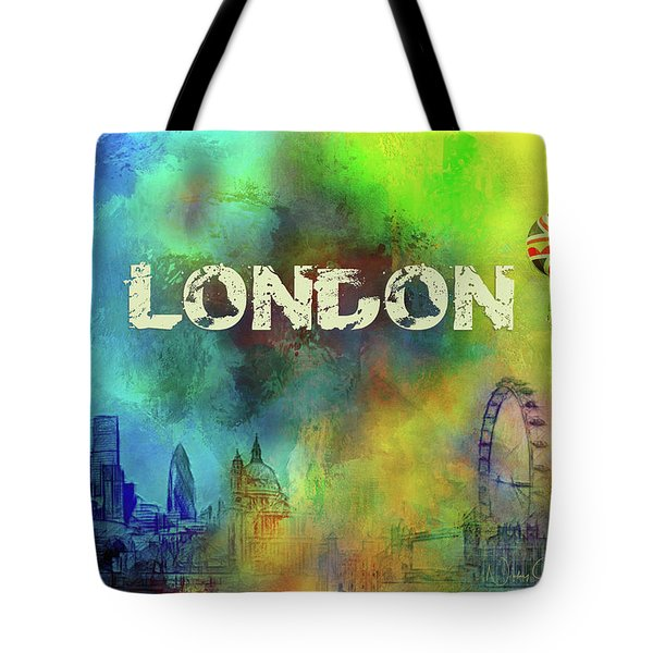 London - Skyline Tote Bag
