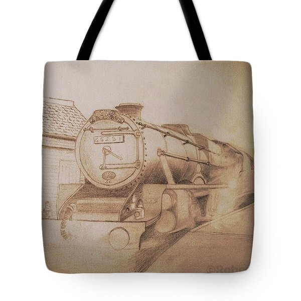 London Steam Locomotive  Tote Bag
