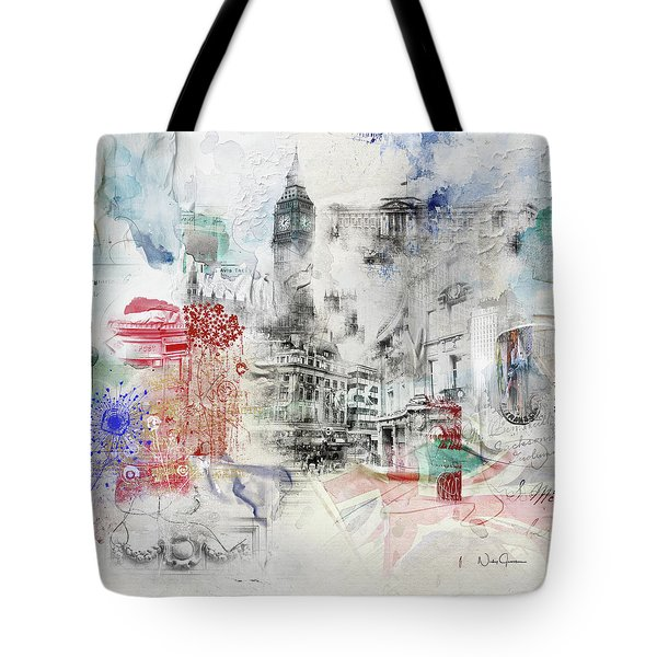 London Study Tote Bag