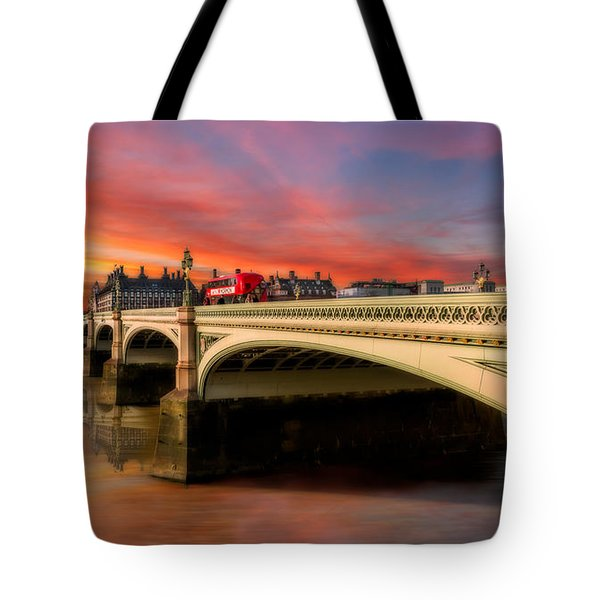 London Sunset Tote Bag