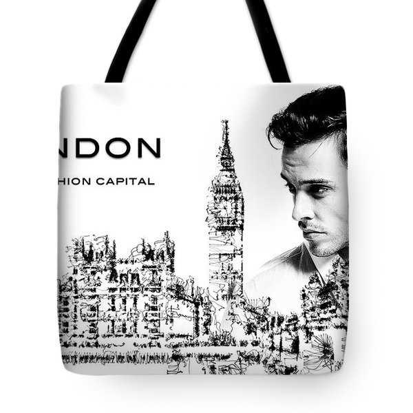 London The Fashion Capital Tote Bag