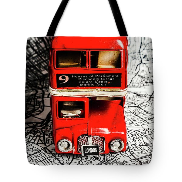 London Tours Tote Bag