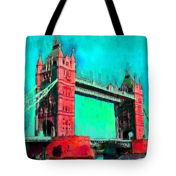 London Tower Bridge 5 - Da Tote Bag