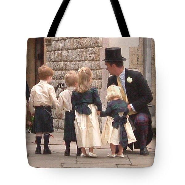 London Tower Wedding Tote Bag