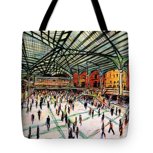 London Train Station Tote Bag