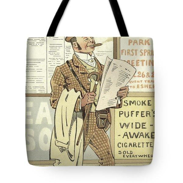 London Types, The Racing Man Tote Bag