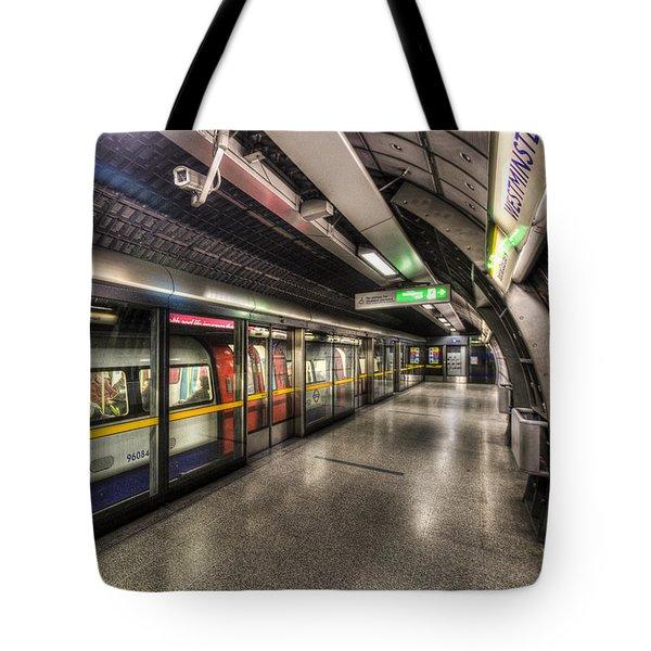 London Underground Tote Bag by David Pyatt