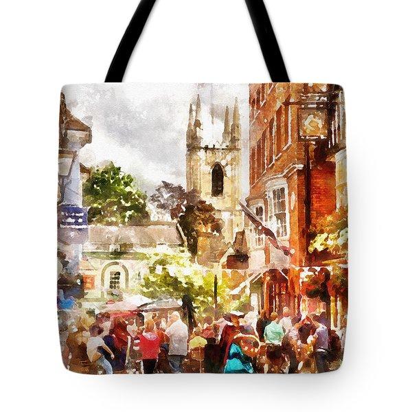 London - Windsor Street Tote Bag