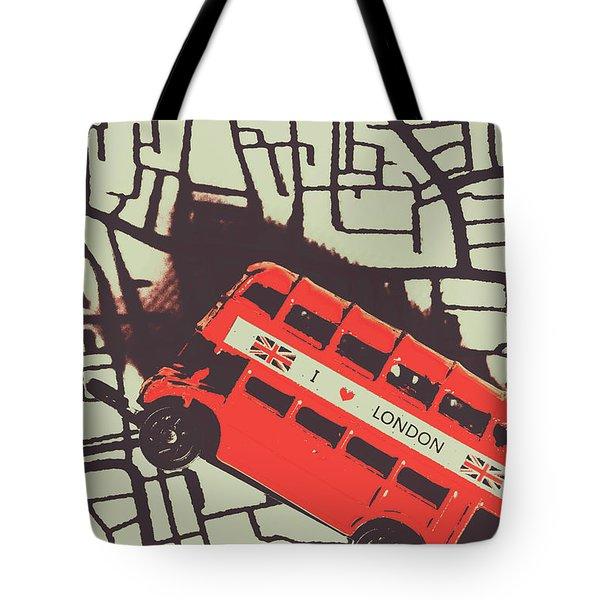 Londoners Travel Run Tote Bag