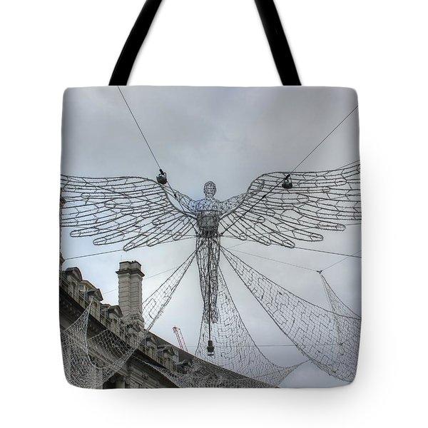London's Angel Tote Bag