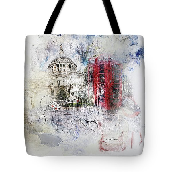 London's Ephemera Tote Bag