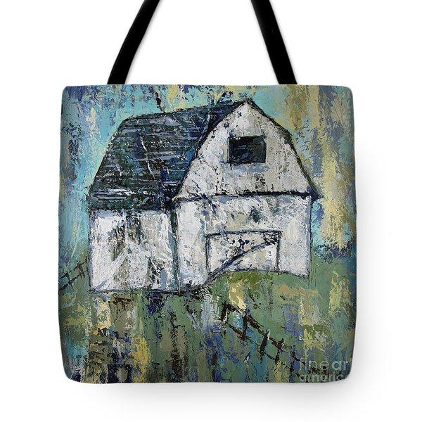 Lone Barn Tote Bag by Kirsten Reed