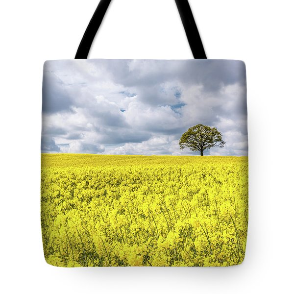 Tote Bag featuring the photograph Lone Beauty by Nick Bywater