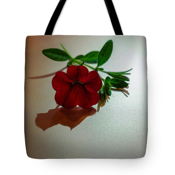 Lone Calibrachoa Tote Bag