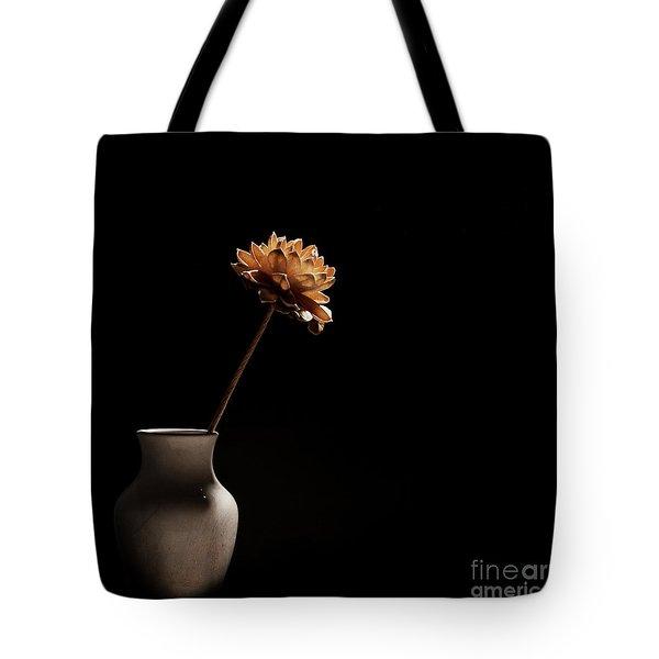 Lone Flower Tote Bag