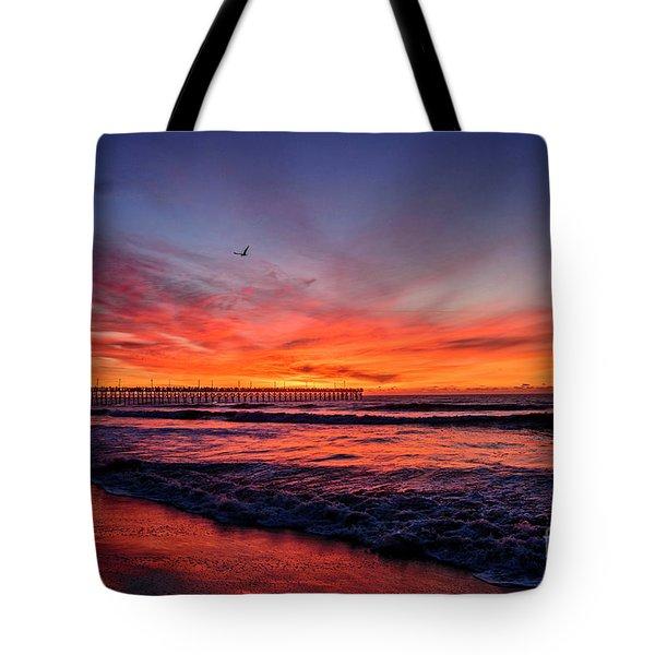 Lone Gull Tote Bag