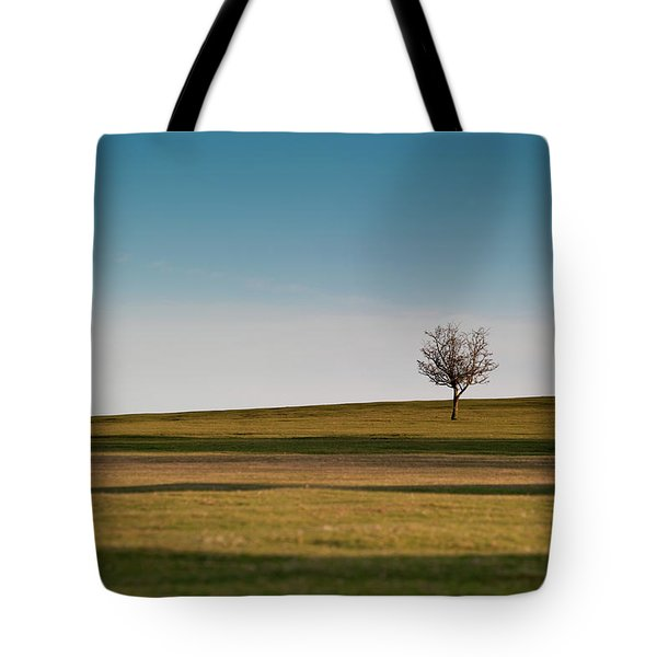 Lone Hawthorn Tree II Tote Bag