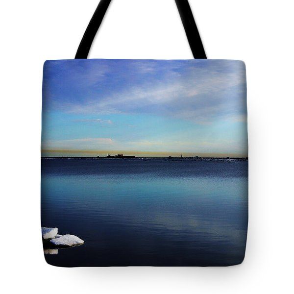 Lone Ice Tote Bag