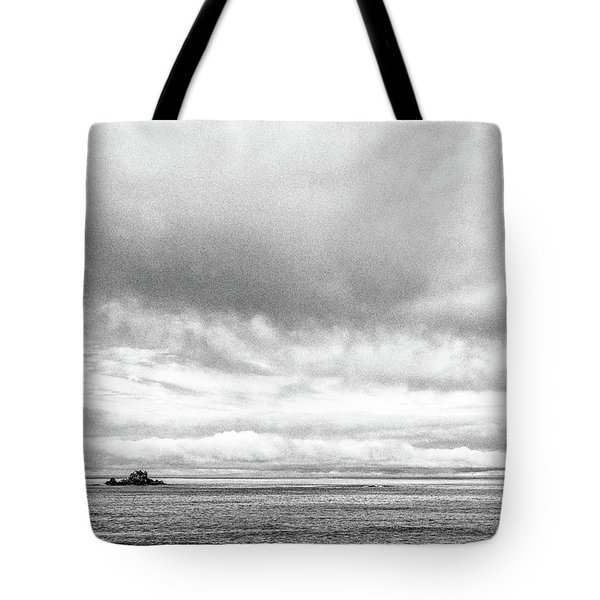Tote Bag featuring the photograph Lone Island In The Pacific by Jingjits Photography