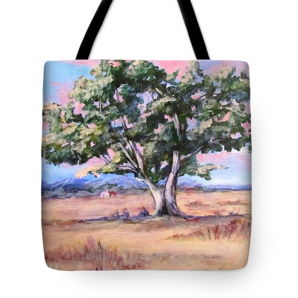Lone Oak Tote Bag