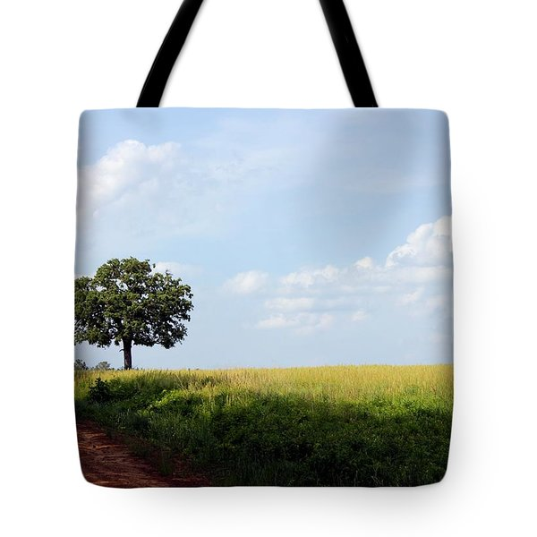 Lone Oak Tote Bag by Betty Northcutt