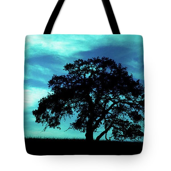 Tote Bag featuring the photograph Lone Oak by Jim and Emily Bush