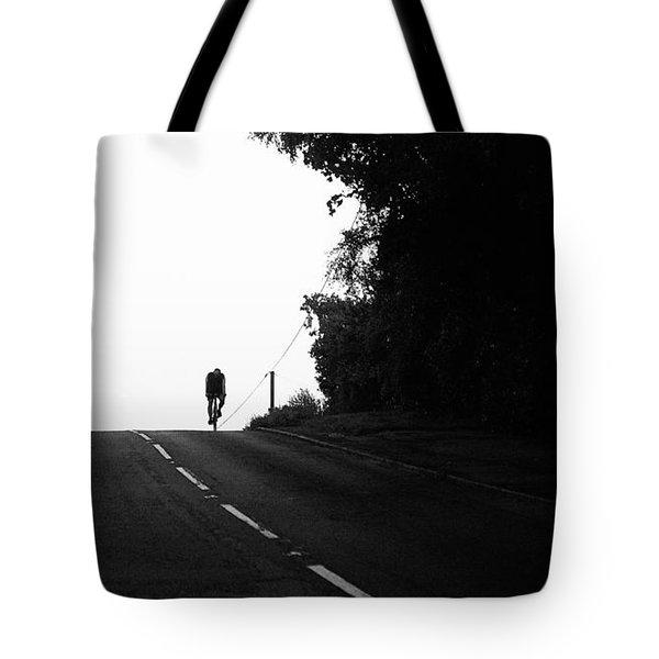 Lone Rider Tote Bag