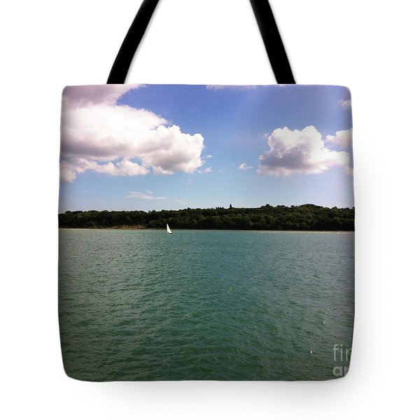 Lone Sailor Tote Bag