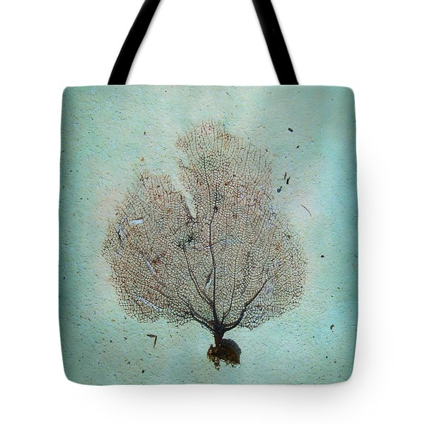 Lone Sea Fan Tote Bag