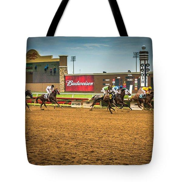 Lone Star Park Grand Prairie Texas Tote Bag