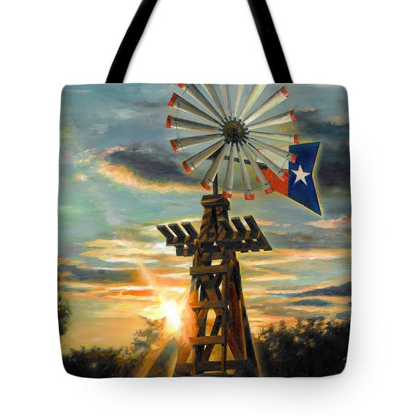 Lone Star Sky Tote Bag