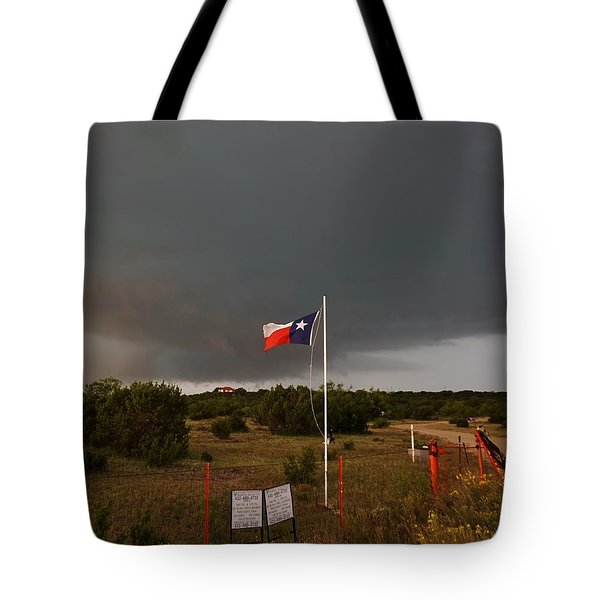Lone Star Supercell Tote Bag