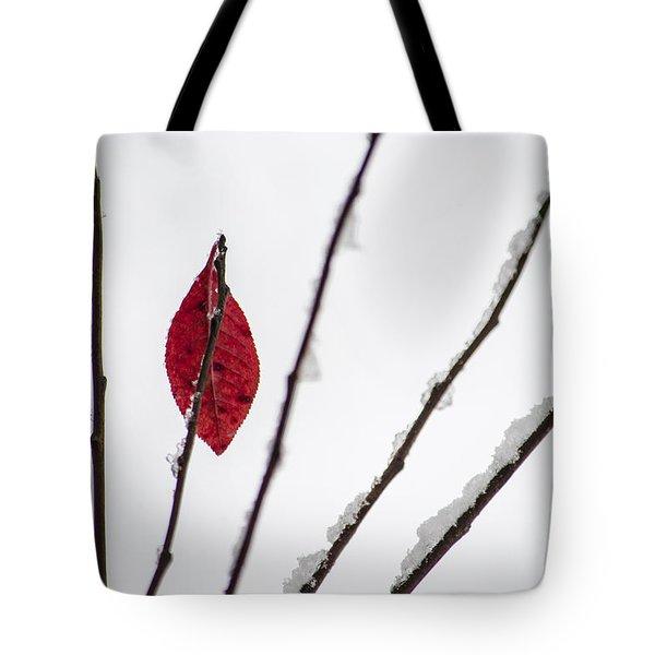 Lone Survivor Tote Bag by Deborah Smolinske