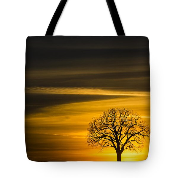Lone Tree - 7061 Tote Bag