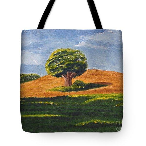 Lone Tree Tote Bag by Mendy Pedersen