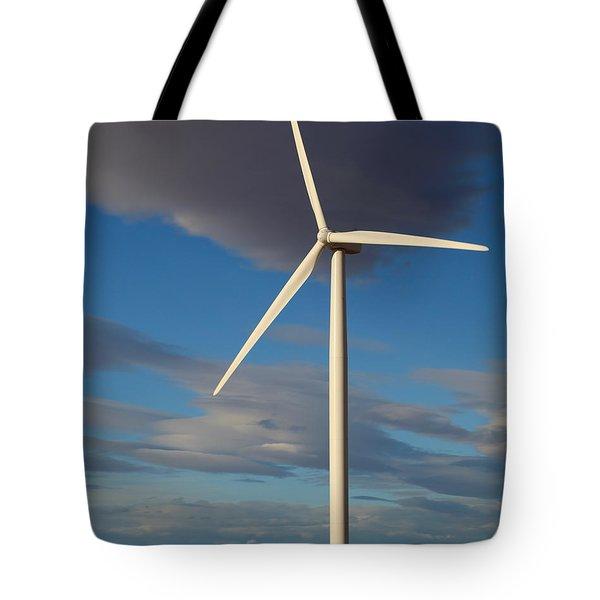 Lone Turbine Tote Bag