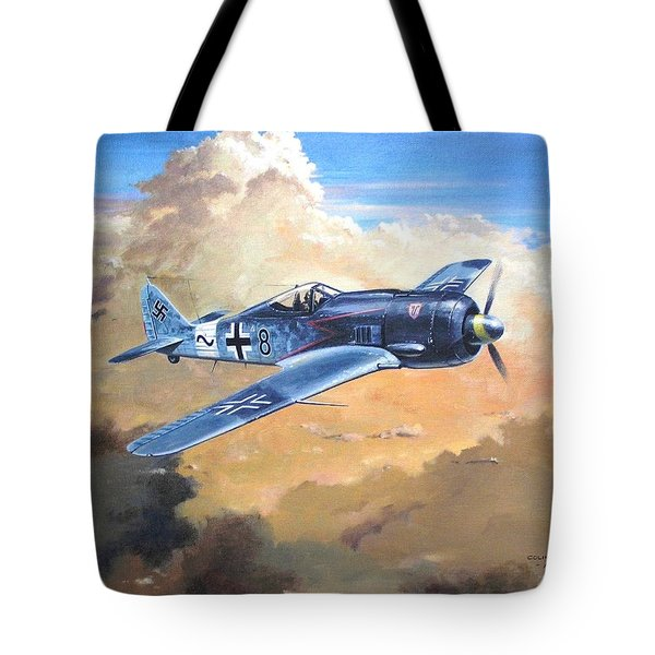 'lone Warrior Fw190' Tote Bag