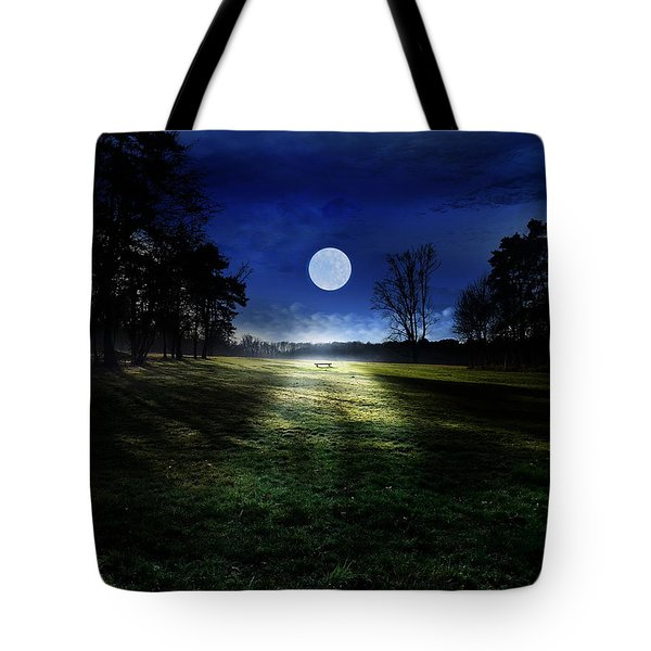 Loneliness Tote Bag by Bernd Hau