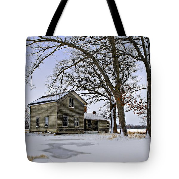 Tote Bag featuring the photograph Lonely And Abandoned by Judy Johnson