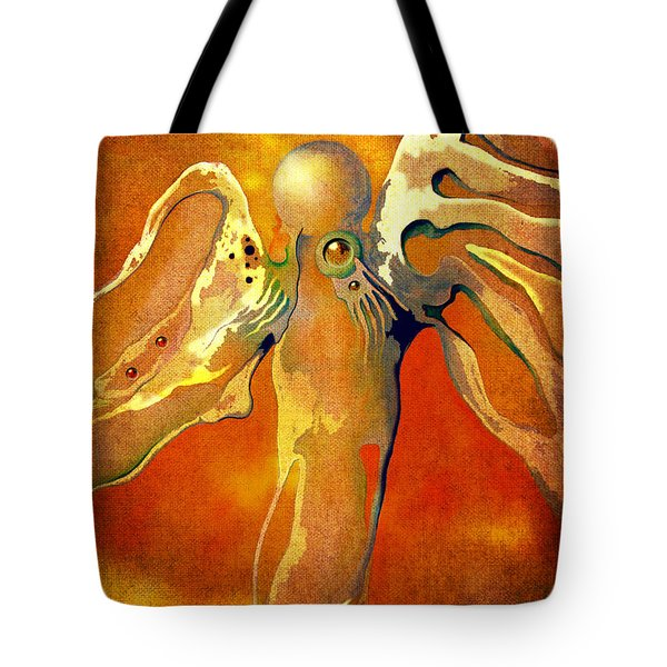 Lonely Angel Tote Bag